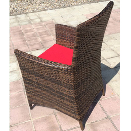 Alumix Outdoor Wicker Square 5-Piece Set Image 8