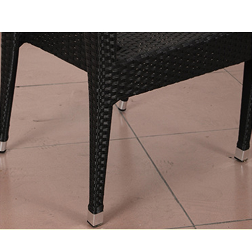 Square Table Wicker Chair Set Image 10