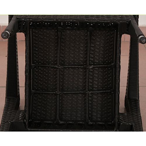 Square Table Wicker Chair Set Image 11