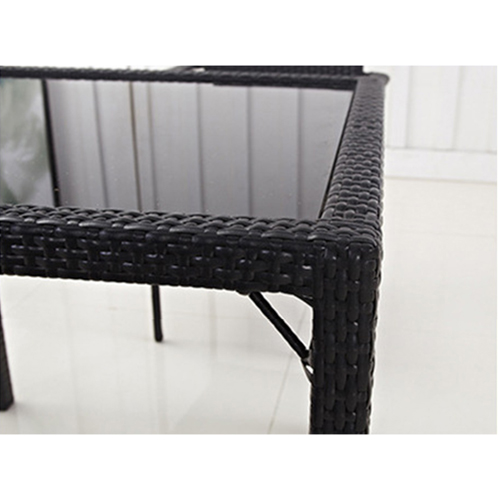 Outdoor Patio Rattan Bistro Furniture Set Image 9