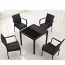 Outdoor Patio Rattan Bistro Furniture Set