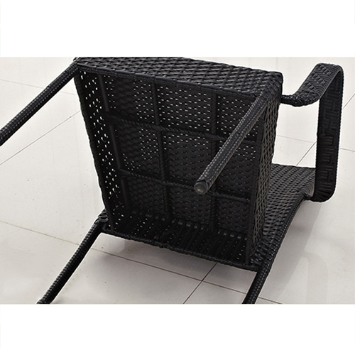 Outdoor Patio Rattan Bistro Furniture Set Image 6