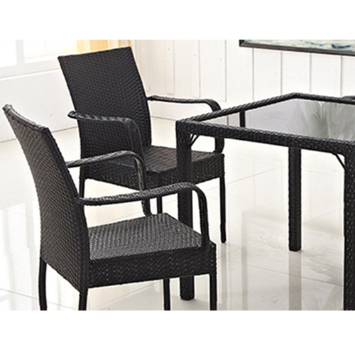 Outdoor Patio Rattan Bistro Furniture Set Image 7
