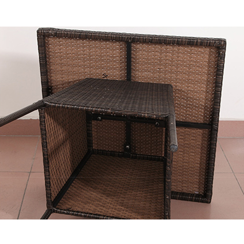 Beg Outdoor Rattan Tables and Chairs Image 11