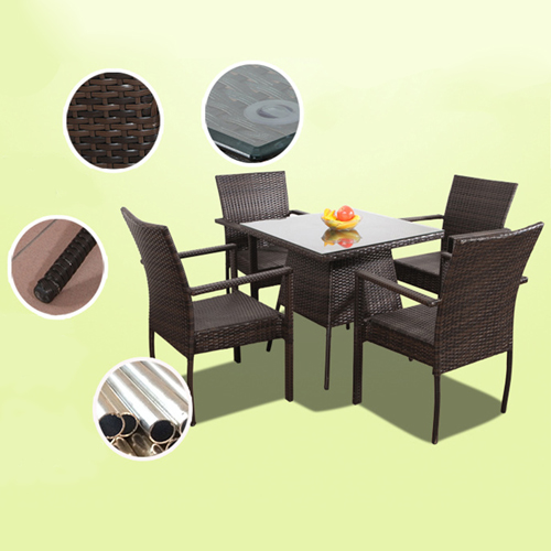 Beg Outdoor Rattan Tables and Chairs Image 3