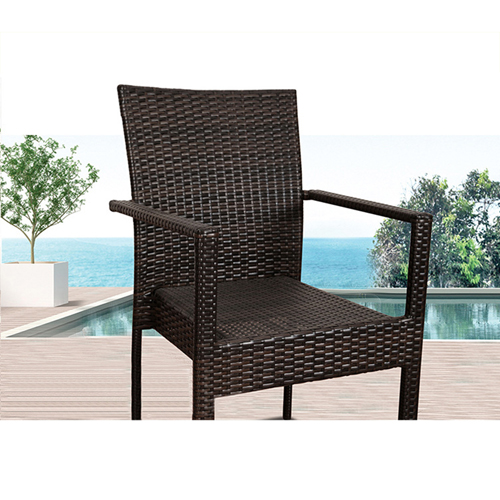 Beg Outdoor Rattan Tables and Chairs Image 5
