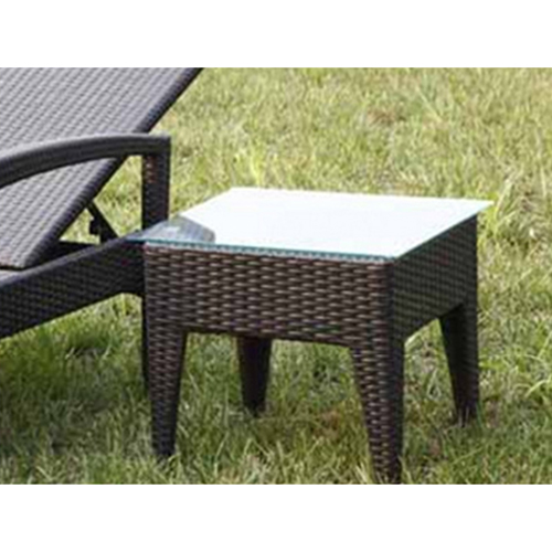 Rattan Folding Beach Lounge Chair Image 8