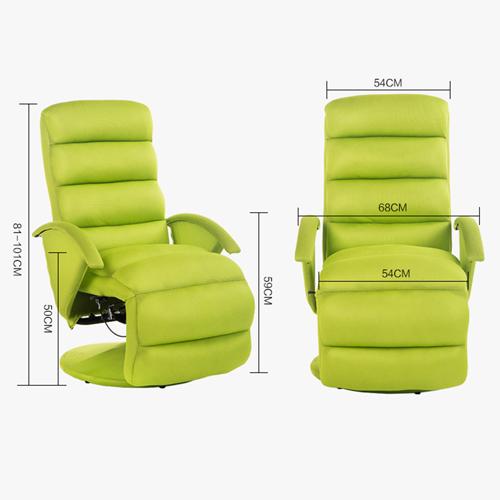Modern Minimalist Recliner Chair Image 16