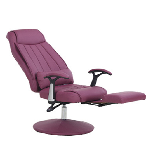 Executive Leather Footrest Armchair