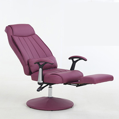 Executive Leather Footrest Armchair Image 1
