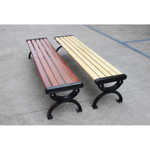 Outdoor Wood Long Garden Bench Image 12