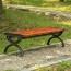 Outdoor Wood Long Garden Bench