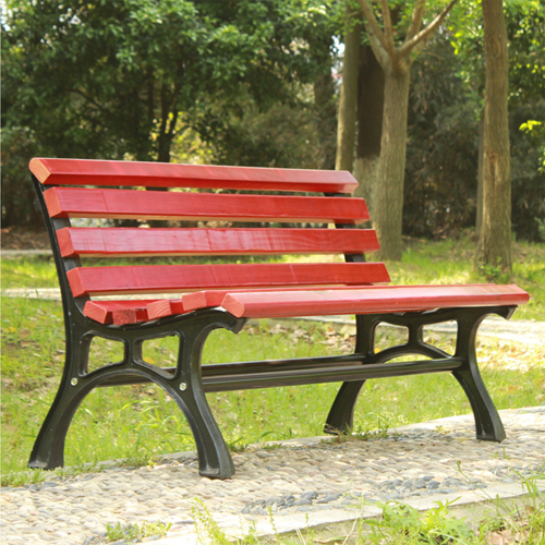 Bittor Outdoor Cast Iron Garden Bench Image 1
