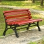 Bittor Outdoor Cast Iron Garden Bench Image 2