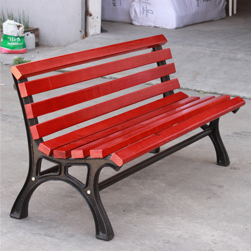 Bittor Outdoor Cast Iron Garden Bench Image 3