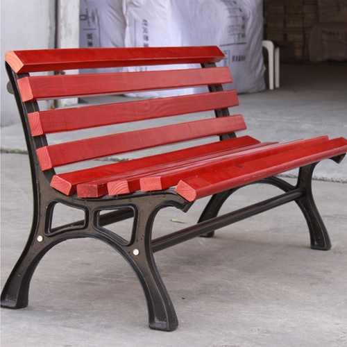 Bittor Outdoor Cast Iron Garden Bench Image 4