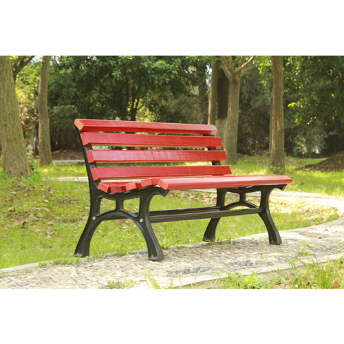 Bittor Outdoor Cast Iron Garden Bench Image 6