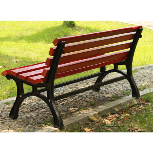 Bittor Outdoor Cast Iron Garden Bench Image 7