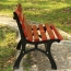 Bittor Outdoor Cast Iron Garden Bench Image 8