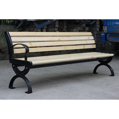 Bolax Outdoor Wooden Public Bench Image 10