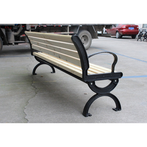 Bolax Outdoor Wooden Public Bench Image 11