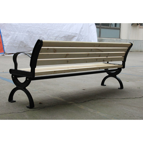 Bolax Outdoor Wooden Public Bench Image 12
