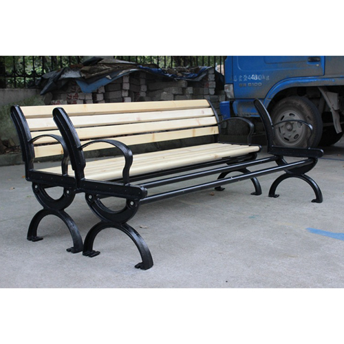 Bolax Outdoor Wooden Public Bench Image 14