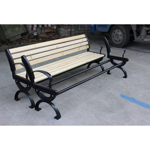 Bolax Outdoor Wooden Public Bench Image 15