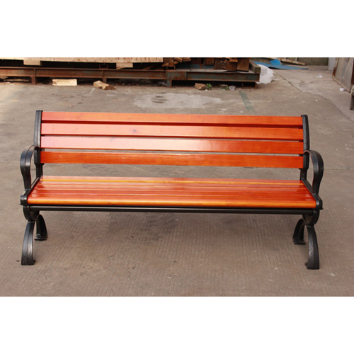 Bolax Outdoor Wooden Public Bench Image 19