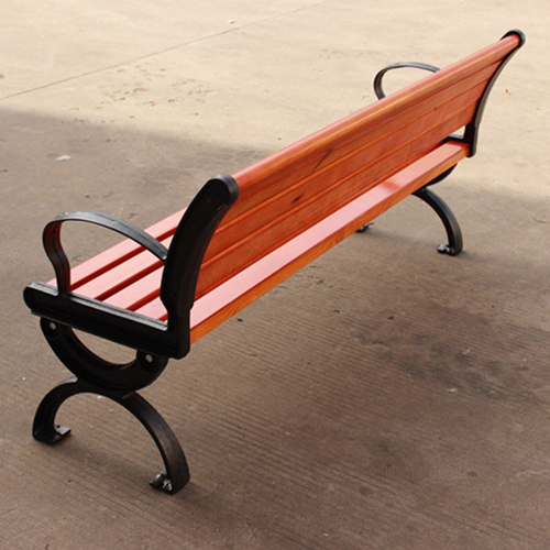 Bolax Outdoor Wooden Public Bench Image 20