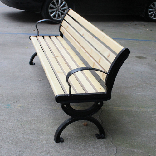 Bolax Outdoor Wooden Public Bench