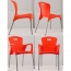 Modern Stackable Chair with Aluminum Legs Image 18
