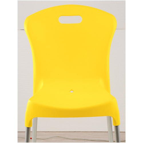 Modern Stackable Chair with Aluminum Legs Image 21