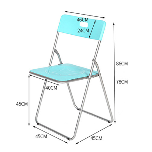 Congo Heavy Duty Plastic Folding Chair Image 16