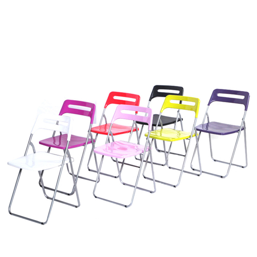 Multi-Functional Plastic Folding Chair Image 1