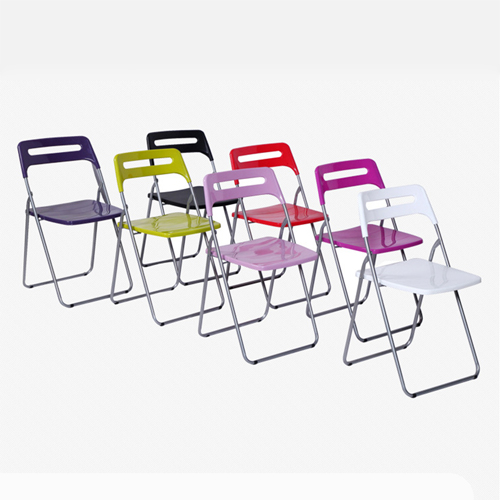 Multi-Functional Plastic Folding Chair Image 5