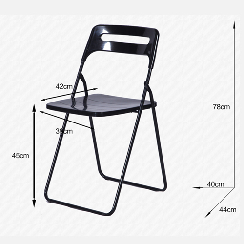 Multi-Functional Plastic Folding Chair Image 6