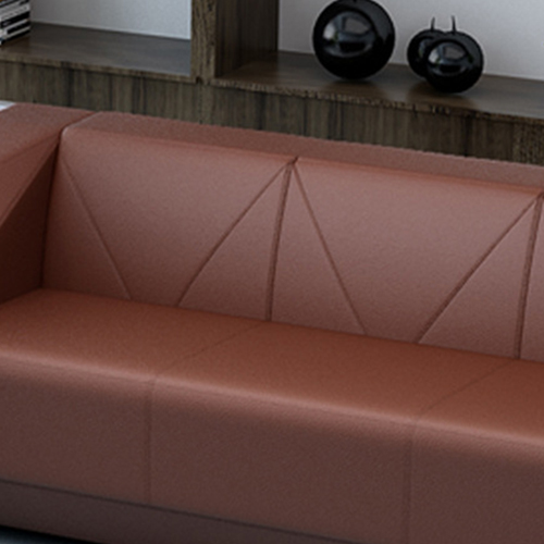 Diamond Leather Office Sofa Set Image 13