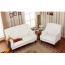 Classic Button Tufted Leather Chair Image 16