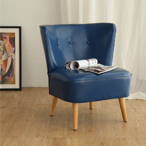 Retro Fabric Leisure Chair Image 10