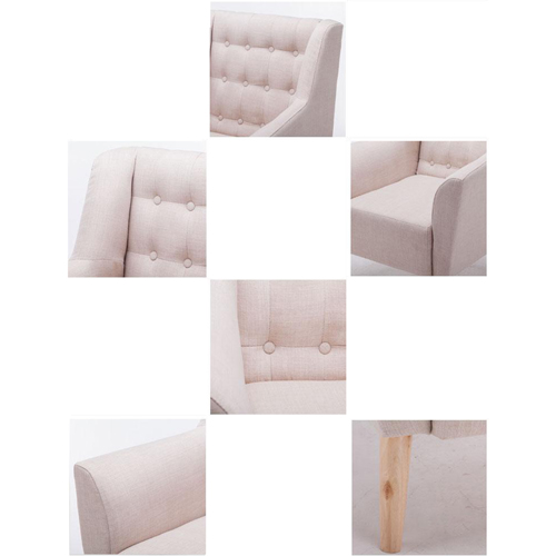Modern Button Tufted Sofa