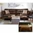 Zinc Four Seater Leather Sofa Image 15