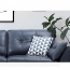 Zinc Four Seater Leather Sofa Image 27