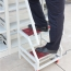 Two-Step Metal Rolling Ladder Image 2