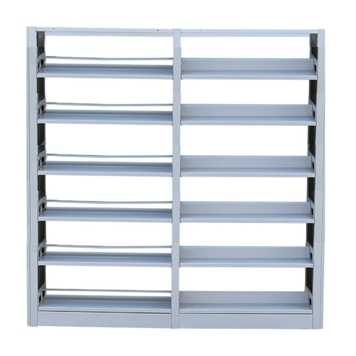 Double Sided Six Layer Bookshelf
