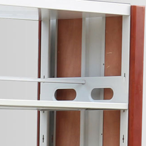 Cuzzles Double-Sided Metal Bookshelf