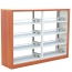 Dentrex Four Story Steel Bookshelf