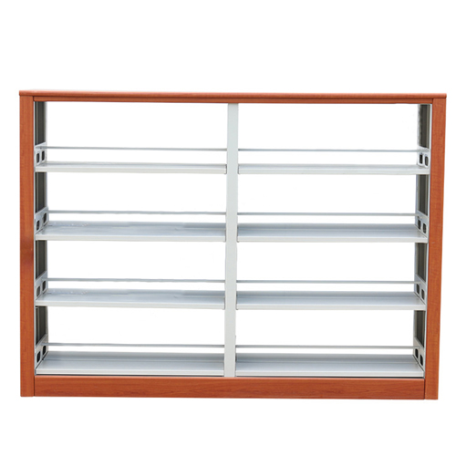 Dentrex Four Story Steel Bookshelf Image 1