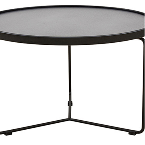 Austex Round Tempered Glass Table Image 11