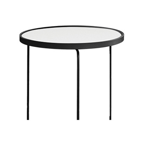 Austex Round Tempered Glass Table Image 12